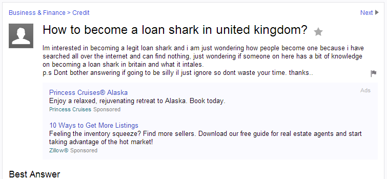 become a loan shark