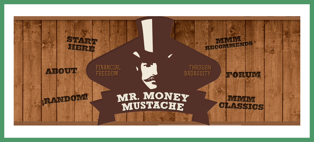 Mr Money Mustache Blog